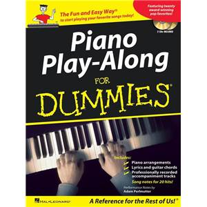 COMPILATION - PIANO PLAY ALONG FOR DUMMIES + 2CDS