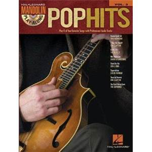 COMPILATION - MANDOLIN PLAY ALONG VOL.03 POP HITS + CD