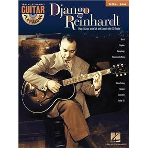 REINHARDT DJANGO - GUITAR PLAY ALONG VOL.144 + CD