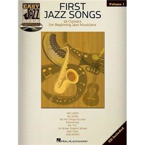 COMPILATION - EASY JAZZ PLAY ALONG VOL.1 FIRST JAZZ SONGS FOR ALL INSTRUMENTS + CD