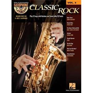 COMPILATION - SAXOPHONE PLAY ALONG VOL.3 CLASSIC ROCK + CD