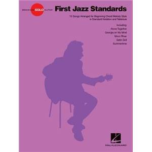 COMPILATION - BEGINNING SOLO GUITAR: FIRST JAZZ STANDARDS