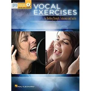 COMPILATION - PRO VOCAL EXERCISES FOR BUILDING STRENGTH, ENDURANCE AND FACILITY + CD