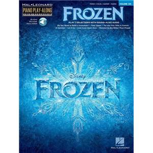 COMPILATION - PIANO PLAY ALONG VOL.128 FROZEN + CD