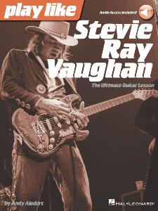 VAUGHAN STEVIE RAY - PLAY LIKE + ONLINE AUDIO ACCESS