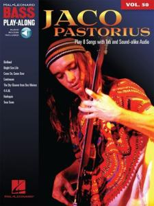 PASTORIUS JACO - BASS PLAY-ALONG VOL.50 + ONLINE AUDIO ACCESS