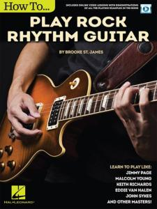 BROOKE ST. JAMES - HOW TO PLAY ROCK RHYTHM GUITAR + ONLINE VIDEO ACCESS