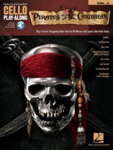 COMPILATION - CELLO PLAY-ALONG VOL.003 PIRATES OF THE CARIBBEAN + ONLINE AUDIO ACCESS
