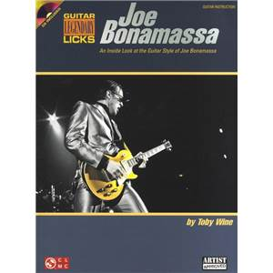 BONAMASSA JOE - LEGENDARY LICKS SERIES + CD