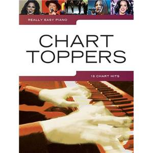 COMPILATION - REALLY EASY PIANO CHART TOPPERS