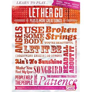 COMPILATION - LEARN TO PLAY LET HER GO PLUS 15 MORE HITS + DOWNLOAD CARD