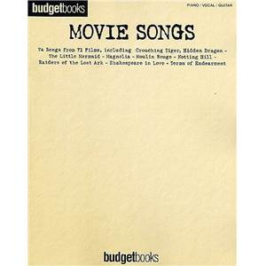 COMPILATION - BUDGET BOOKS MOVIE 74 SONGS P/V/G