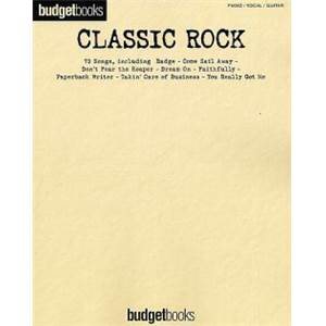 COMPILATION - BUDGETBOOK CLASSIC ROCK 73 SONGS P/V/G