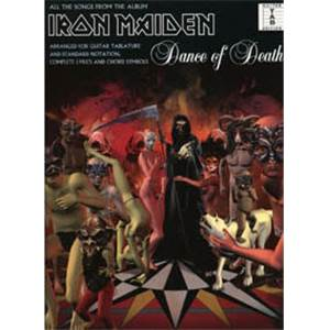 IRON MAIDEN - DANCE OF DEATH GUITAR TAB.