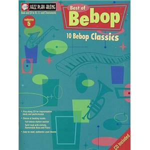 COMPILATION - JAZZ PLAY ALONG VOL.005 BEST OF BEBOP + CD