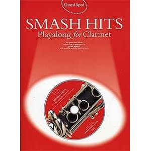 COMPILATION - GUEST SPOT SMASH HITS PLAY ALONG FOR CLARINET + CD
