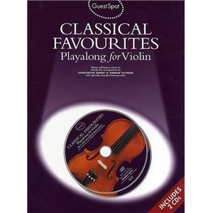 COMPILATION - GUEST SPOT CLASSICAL FAVOURITES PLAY ALONG FOR VIOLIN + 2CDS