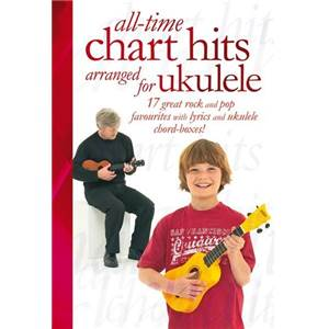 COMPILATION - ALL TIME CHART HITS ARRANGED FOR UKULELE