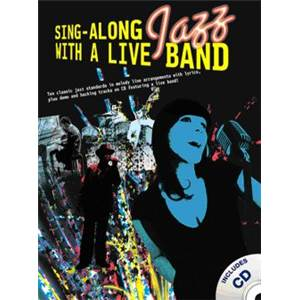 COMPILATION - SING ALONG JAZZ WITH A LIVE BAND + CD