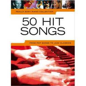 COMPILATION - REALLY EASY PIANO 50 HIT SONGS