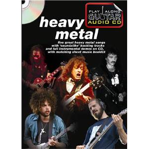 COMPILATION - HEAVY METAL PLAY ALONG GUITAR + CD
