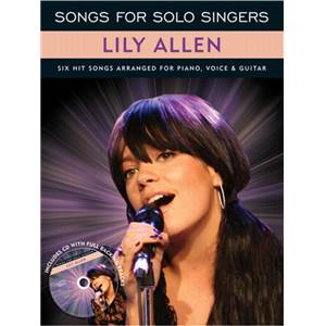 ALLEN LILY - SONGS FOR SOLO SINGERS + CD