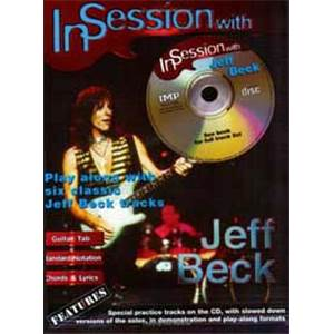 BECK JEFF - IN SESSION GUITAR TAB. + CD