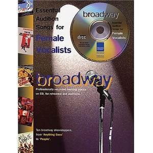 COMPILATION - FEMALE VOCALISTS BROADWAY + CD