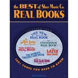 COMPILATION - THE BEST OF SHER MUSIC CO REAL BOOKS EB (100 TUNES YOU NEED TO KNOW)