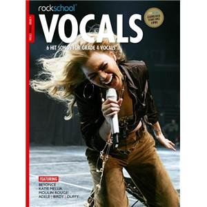 COMPILATION - ROCKSCHOOL VOCALS FEMALE GRADE 4 + DOWNLOAD CARD
