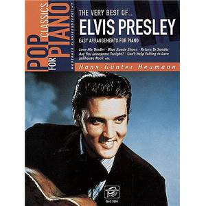 PRESLEY ELVIS - THE VERY BEST OF EASY PIANO SOLOS