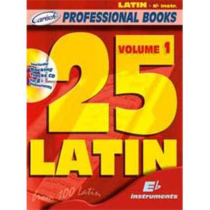 COMPILATION - 25 LATIN FOR EB INSTRUMENTS VOL.1 + CD