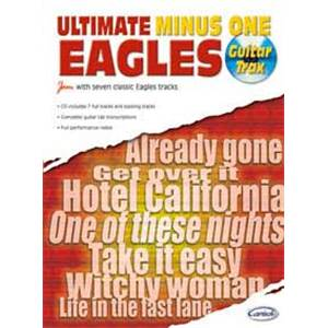 EAGLES THE - ULTIMATE MINUS ONE GUITAR TRAX + CD