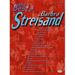 STREISAND BARBRA - BEST OF P/V/G