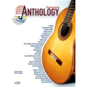 COMPILATION - ANTHOLOGY GUITARE VOL.1 29 ALL TIME FAVORITES + CD