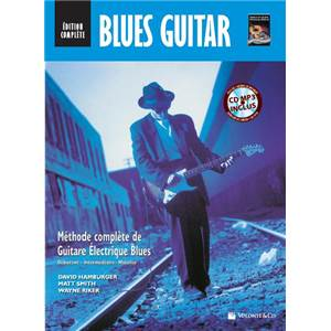 HAMBURGER SMITH RIKER - BLUES GUITAR EDITION COMPLETE DEBUTANT/INTERMEDIAIRE/MAITRISE + 3CD