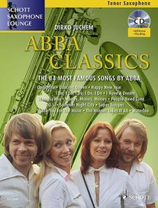 ABBA CLASSICS FOR TENOR SAXOPHONE (SIB) +CD