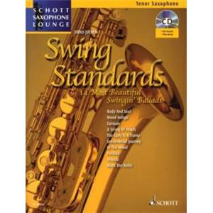 JUCHEM DIRKO - SWING STANDARDS SAXOPHONE SIB + CD
