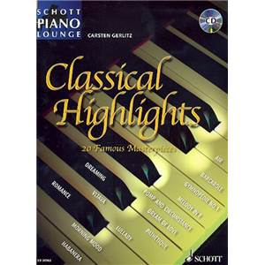 GERLITZ CARSTEN - PIANO LOUNGE COLLECTION CLASSICAL HIGHLIGHTS + CD
