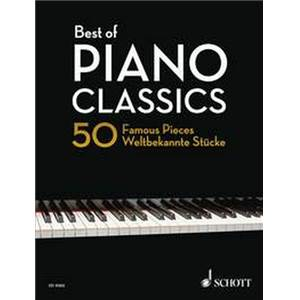 COMPILATION - BEST OF PIANO CLASSICS (50 PIECES CELEBRES) ARRANGT. HEUMANN