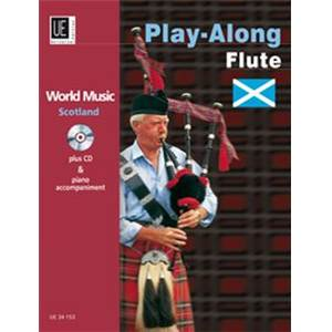 COMPILATION - WORLD MUSIC SCOTLAND (ECOSSE) FLUTE/PIANO + CD
