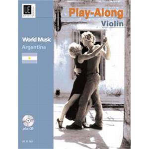 COMPILATION - WORLD MUSIC ARGENTINA (ARGENTINE) VIOLON/PIANO + CD