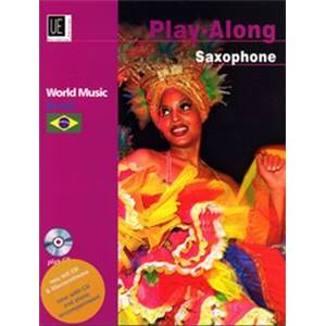COMPILATION - WORLD MUSIC BRAZIL (BRESIL) SAXOPHONE/PIANO + CD