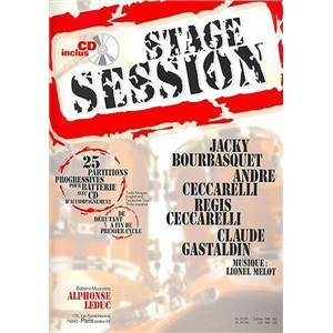 COMPILATION - STAGE SESSION VOL.1 + CD