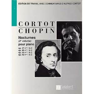 CHOPIN FREDERIC - NOCTURNES VOL.2 OP.37 48 55 62 POUR PIANO