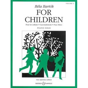 BARTOK BELA - FOR CHILDREN VOL.2