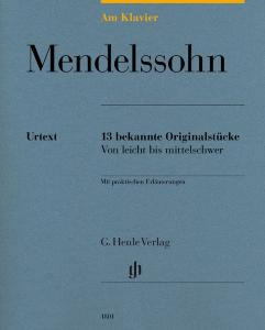 MENDELSSOHN FELIX - AM KLAVIER (13 PIECES ORIGINALES) - PIANO