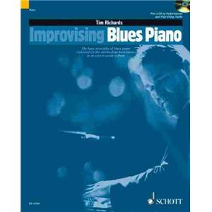 RICHARDS TIM - IMPROVISING BLUES PIANO + CD PIANO