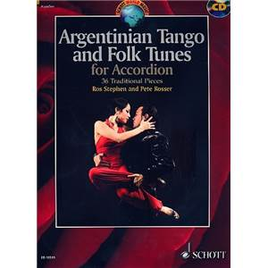 ARGENTINIAN TANGO AND FOLK TUNES (36 TRADITIONNELS) + CD - ACCORDEON
