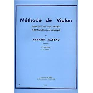 MASSAU ARMAND - METHODE DE VIOLON VOL.1 POSITION NO.3